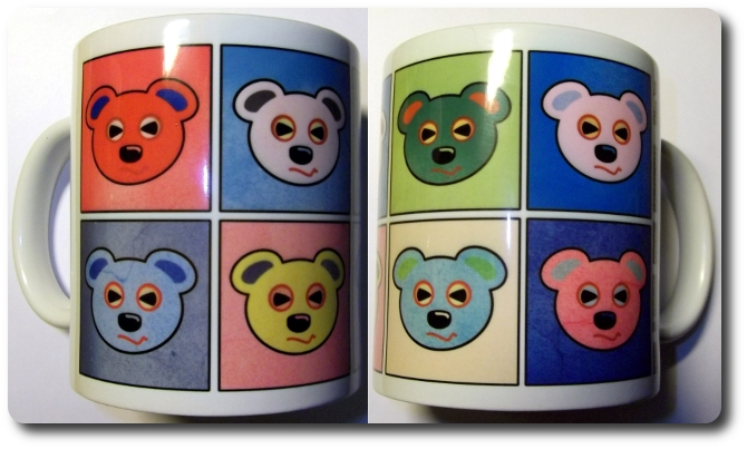 Bad O'Bear Goes Warhol
